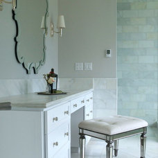 Traditional Bathroom by Michelle Burgess Design