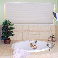 Traditional Bathroom by Sunshine Menefee