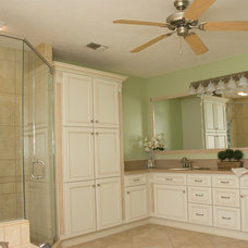 Traditional Bathroom by Sunshine Menefee
