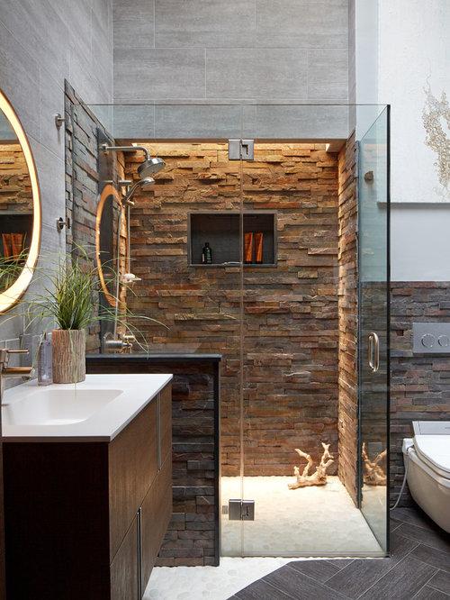 Contemporary Bathroom Design Ideas Remodels Photos – Contemporary Bathroom