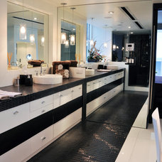 Contemporary Bathroom by Forato Design Group