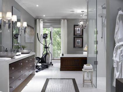 Modern Bathroom Spa Bathroom