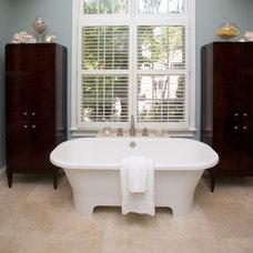 Traditional Bathroom by Loftus Design, LLC