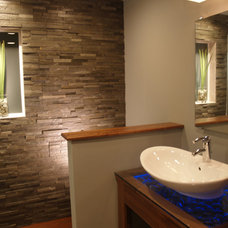 Contemporary Bathroom by Realstone Systems