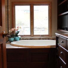 Traditional Bathroom by JP&CO. Samantha Grose, Designer