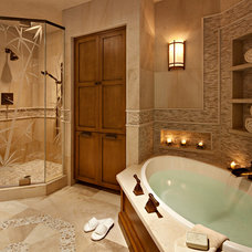 Traditional Bathroom by Rejoy Interiors, Inc.
