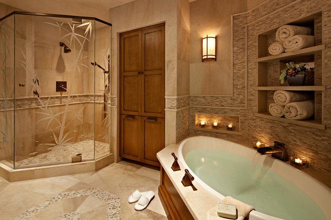 Traditional Bathroom by Rejoy Interiors, Inc.