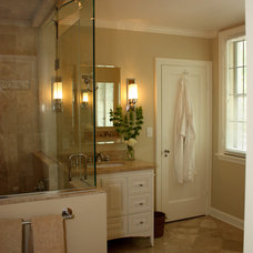 Traditional Bathroom by Design Group Three