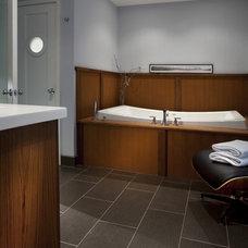 Modern Bathroom by Tongue & Groove