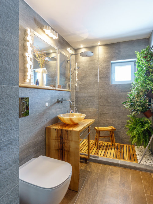 75 Popular Small Tropical Bathroom Design Ideas Stylish