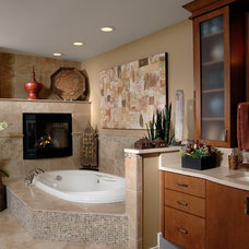 Contemporary Bathroom by Fredman Design Group