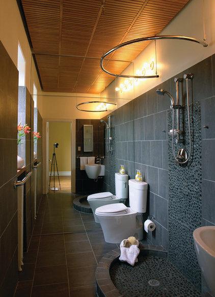 Contemporary Bathroom by Gardner Mohr Architects LLC