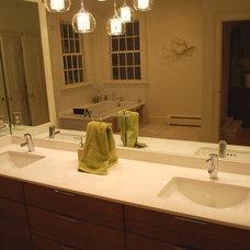 Contemporary Bathroom Spa-like bathroom
