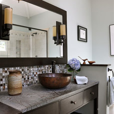 Contemporary Bathroom by Lynn Ronan Design