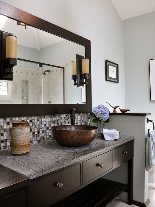 Spa like bathroom houzz for Spa like bathroom decor