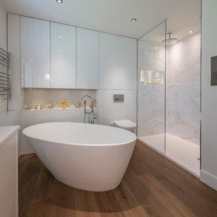 Spa-like Bathroom- Surrey Residence