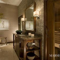 Modern Bathroom by Marshall Morgan Erb Design Inc.