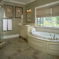 Traditional Bathroom by Maria K. Bevill Interior Design