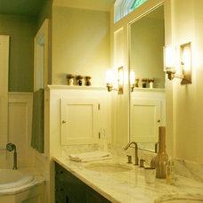 Contemporary Bathroom by Rob Sanders Architects LLC