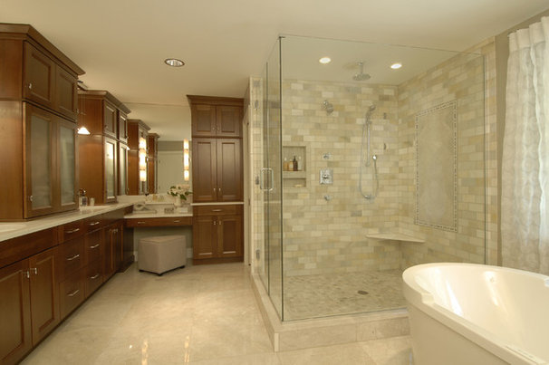 Traditional Bathroom by Steiner Design Interiors