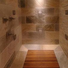 Contemporary Bathroom by Square Footage Custom Kitchens & Bath Inc.