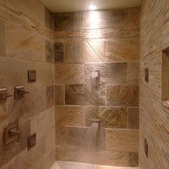 contemporary bathroom by Square Footage Custom Kitchens & Bath Inc.