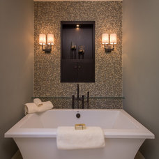 Transitional Bathroom by Aneka Interiors Inc.