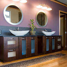 Asian Bathroom by DreamMaker Bath & Kitchen of Greater Grand Rapids