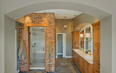 Room of the Day: Materials Make This Master Bath