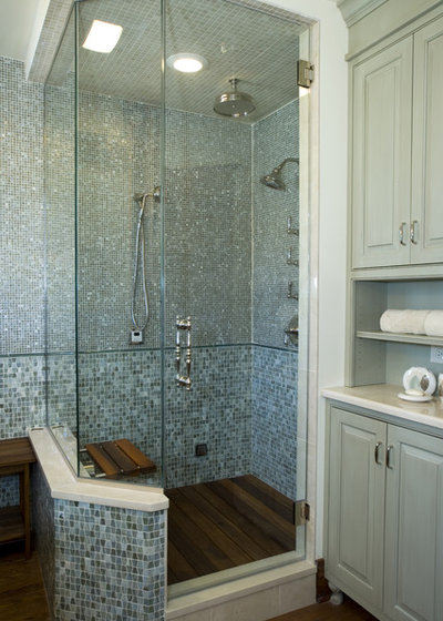 Transitional Bathroom by Stonebreaker Builders & Remodelers