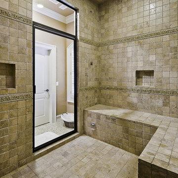 Spa Shower with Steam bath