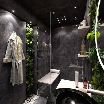 Spa Steam Shower Bathroom