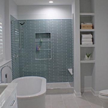 Spa Style Bath Design in Springfield