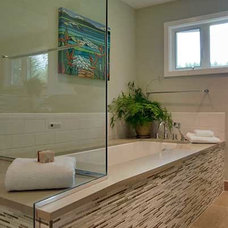 Contemporary Bathroom by Keyser Construction, Inc