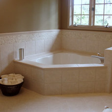 traditional bathroom by Anna Murphy Design & Interiors