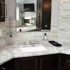Contemporary Bathroom by Design Build Pros