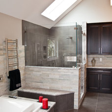 Contemporary Bathroom by Design Build Pros