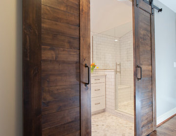Space Saving Sliding Barn Doors