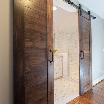 Space Saving Sliding Barn Doors