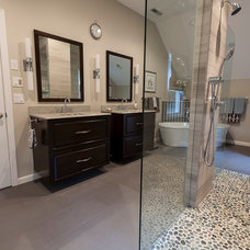 Eclectic Bathroom by Simply Baths & Showcase Kitchens