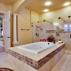 Traditional Bathroom by Barbara Gilbert Interiors