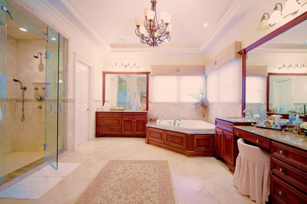 Traditional Bathroom by Ron Nathan Interior Design Group