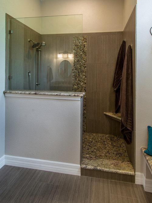 Traditional ensuite bathroom design ideas renovations for Ensuite flooring ideas