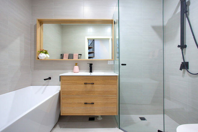 Contemporary Bathroom by Pilcher Residential