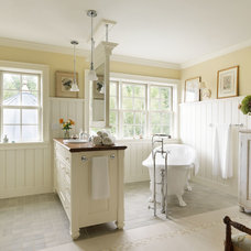 Traditional Bathroom by Conner & Buck