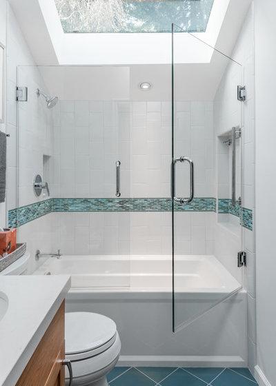 Beach Style Bathroom by Custom Kitchens by John Wilkins, Inc.