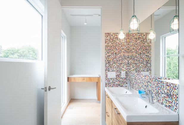 Contemporary Bathroom by built
