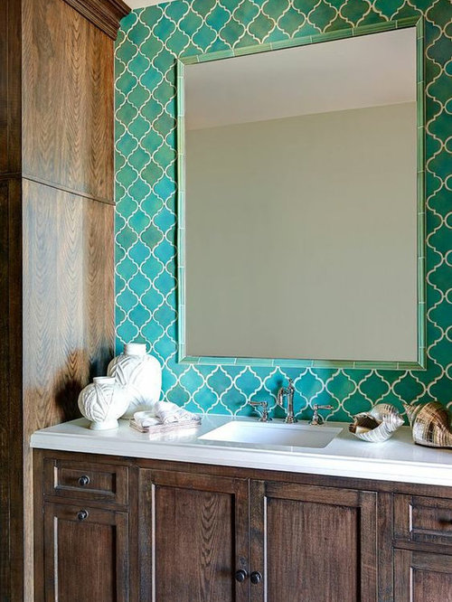 SaveEmail. Tile Framed Mirror Ideas  Pictures  Remodel and Decor