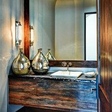 Mediterranean Bathroom by Palm Design Group