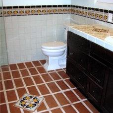Mediterranean Bathroom by Fidelity General Contractors Inc.